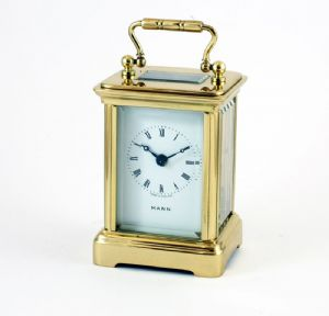 Refurbished MINIATURE 8 Day Obis Carriage Clock